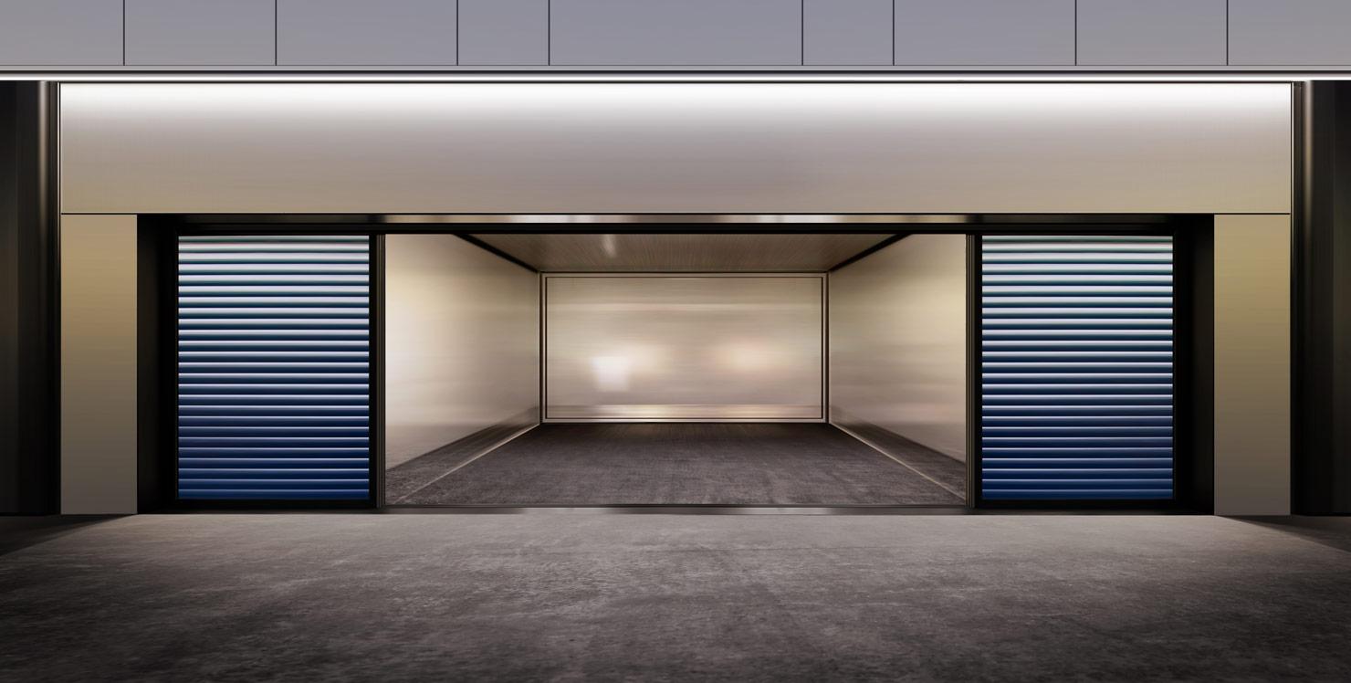 Les int r ts des portes de garage portes de garage s curis s - Portes de garage coulissantes motorisees ...